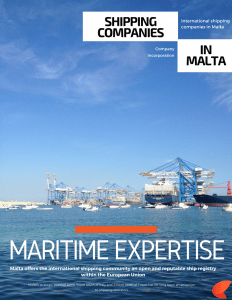 Shipping company incorporation Malta | Papilio Services Limited