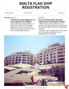 Malta Flag Ship Registration   Papilio Services Limited