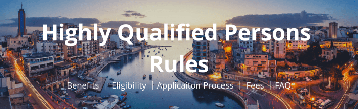 Highly Qualified Persons Rules – Papilio Services