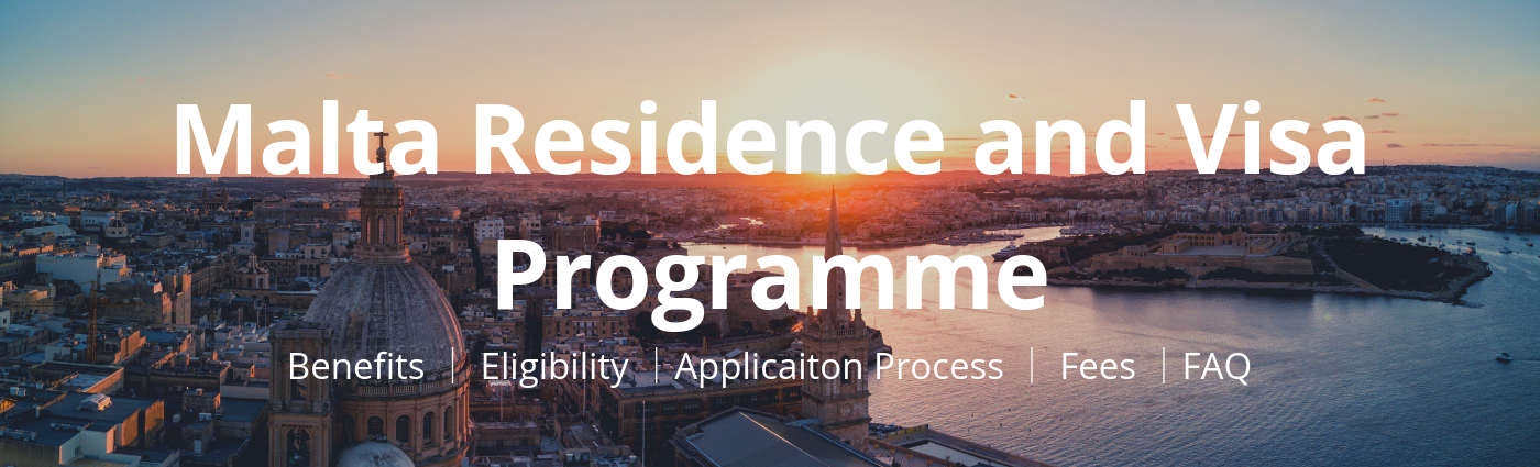 Malta Residence and Visa Programme Banner - Papilio Services