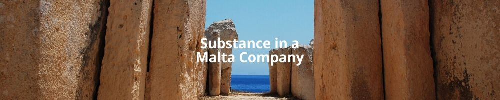 Substance in a Malta Company
