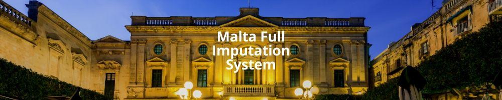 Malta Full Imputation System