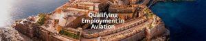 Qualifying Employment in Aviation