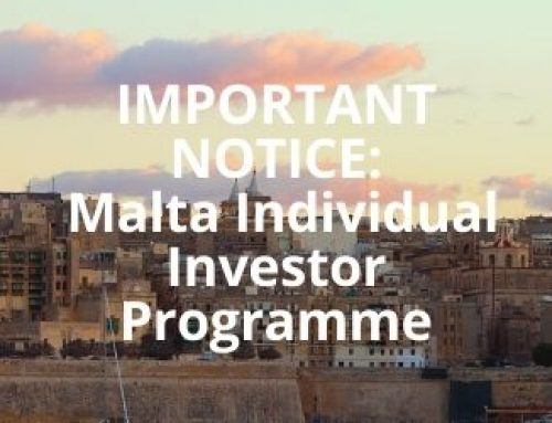 Malta Citizenship by Investment Programme UPDATE