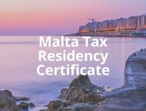 Malta Tax Residency Certificate