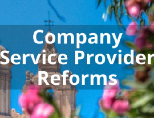 Company Service Provider Reforms
